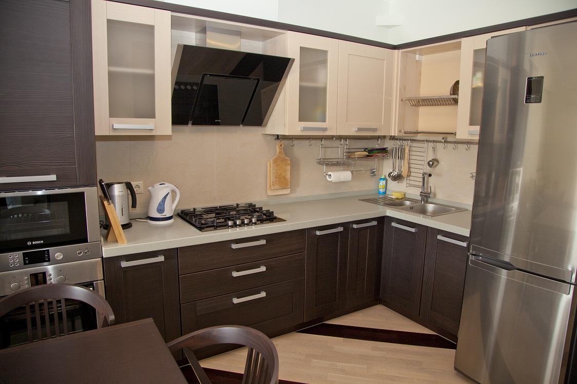 Кухня цвета венге (42 фото): как создать дизайн своими рукам.