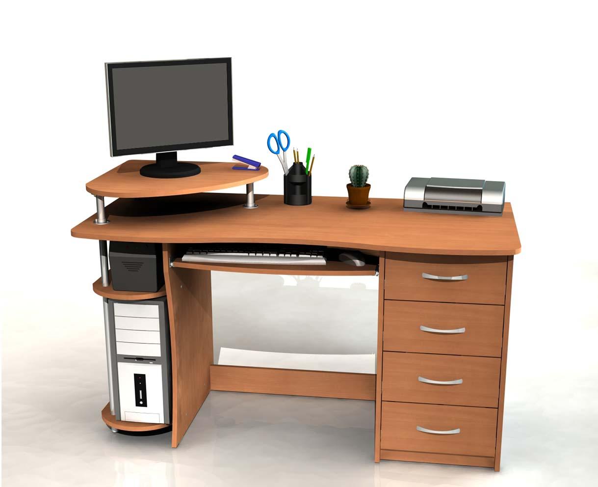 Компьютерные столы - как выбрать? 45 фото готовых идей дизай.
